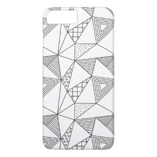 Bold Black and White Iphone7 Plus Case