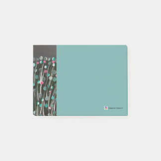 Bold Blooms Post-it® Notes