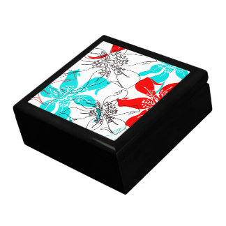 Bold Blossoms Jewelry Boxes