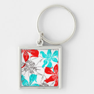 Bold Blossoms Keychains