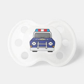 Bold Blue Police Patrol Car Dummy