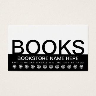 bold BOOKS customer loyalty card
