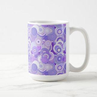 Bold Bright Digital Art Abstract Coffee Mug