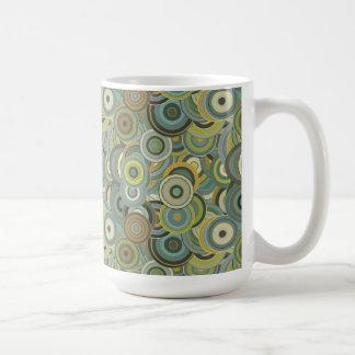 Bold Bright Digital Art Abstract Mug