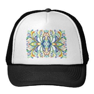Bold Bright Graffiti Doodle Hat