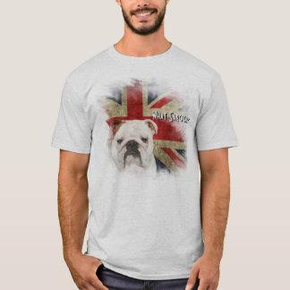 Bold British Bulldog Grunge style Union Jack T-Shirt