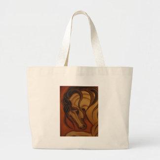 Bold Buckskin Horse Bags