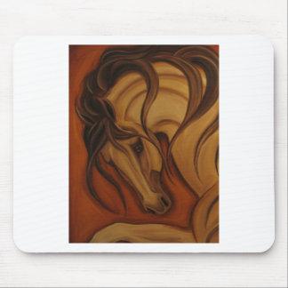 Bold Buckskin Horse Mousepad