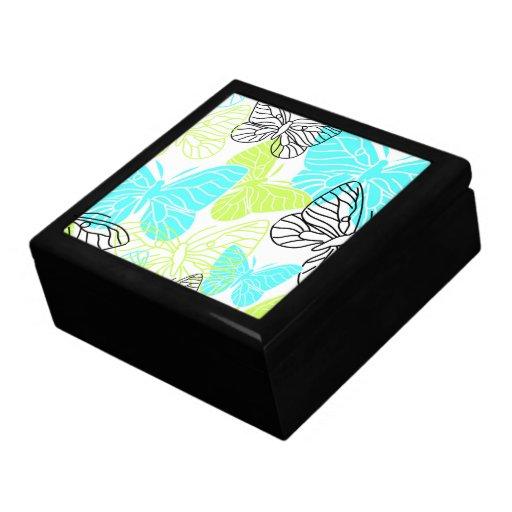 Bold Butterflies Jewelry Box