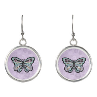 Bold Butterfly drop earrings