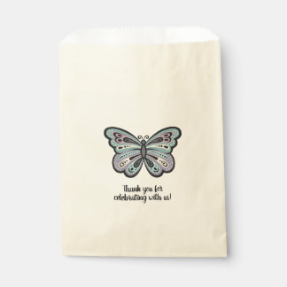 Bold Butterfly favor bags