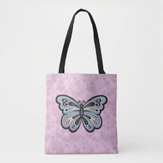Bold Butterfly tote bag
