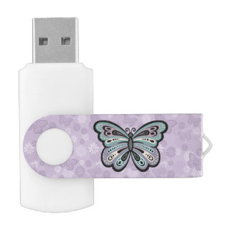 Bold Butterfly USB flash drive