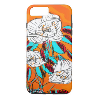 Bold, Colorful, Floral phonecase iPhone 7 Plus Case