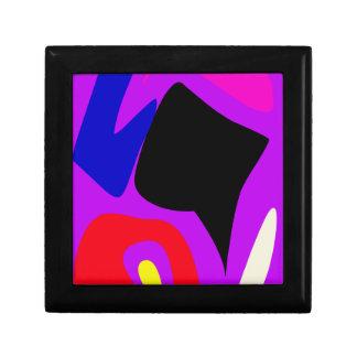 Bold Contrast Art Jewelry Box