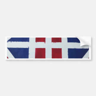 BOLD DESIGN WITH AN EYE CATCHING COLOR! BUMPER STICKER