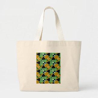 Bold Digi-crazed Tote Bags