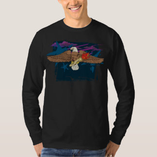 Bold Eagle with Eternal Torch #2 T-Shirt