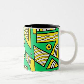 Bold Exciting Cute Animal Two-Tone Mug