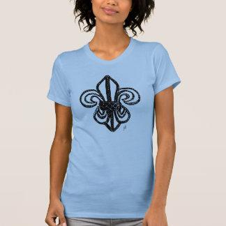 Bold Fleur de lis sketch by jill Shirts