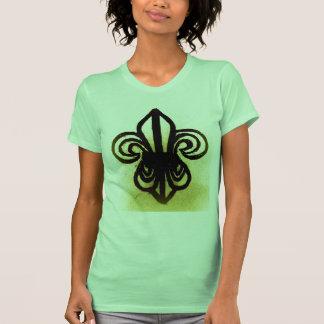 BOLD FLEUR DE LIS SKETCH by jill T-shirt