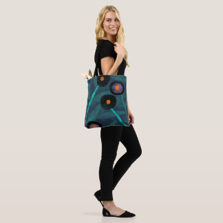 Bold Floral Tote