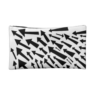 Bold Flying Arrows Makeup Bags