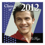 Bold Fresh Class of 2012 Grad Photo Party Invitation