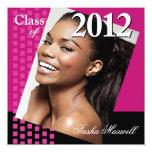 Bold Fresh Class of 2012 Grad Photo Party Custom Announcement