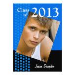 Bold Fresh Class of 2013 Grad Photo Party Invitation