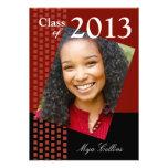 Bold Fresh Class of 2013 Grad Photo Party Invite