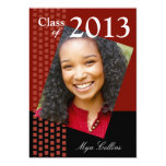 Bold Fresh Class of 2013 Grad Photo Party Invite
