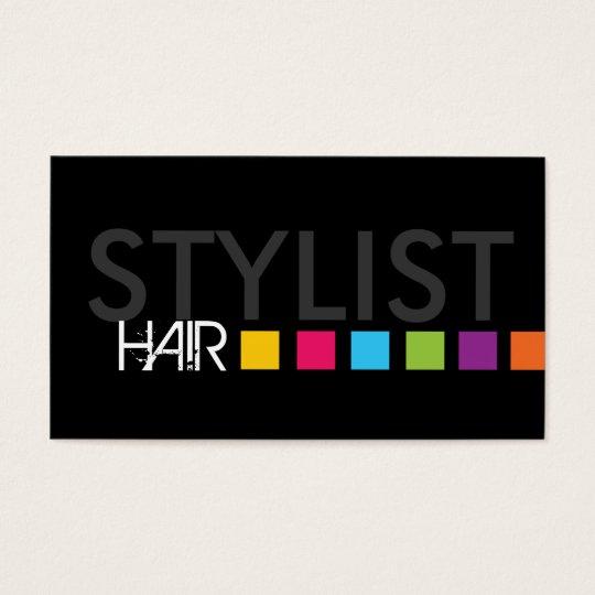 Bold Hair Salon Business Card