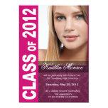 Bold, Hip 2012 Graduation Photo Announcement