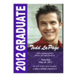 Bold, Hip 2012 Graduation Photo Announcement