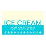 bold ICE CREAM customer loyalty card Business Card