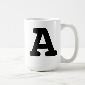 Bold Initial Mugs