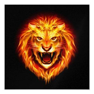 Bold Lion Invitation - SRF