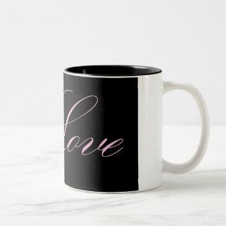 Bold Love Two-Tone Mug