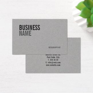 Bold & Modern business & logo template - Business Card