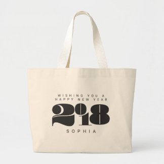 BOLD NEW YEAR LARGE TOTE BAG