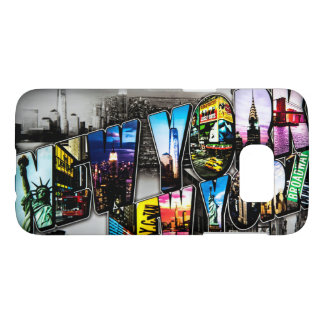 Bold New York letters smartphone case