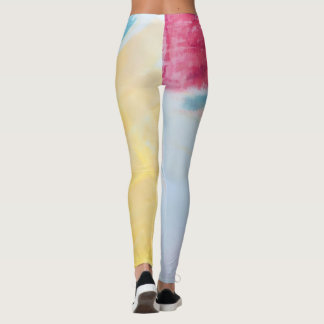 Bold painted leggings