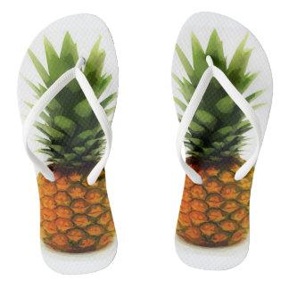 BOLD Pineapple Flip-Flops for fun in the sun Flip Flops