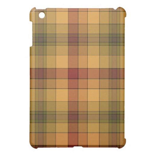 Bold Plaid Hard Shell iPad Case