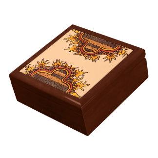 Bold Pre-Columbian Large Square Gift Box