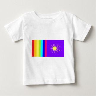 bold rainbow sun baby T-Shirt