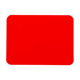 Bold Red Background Magnet