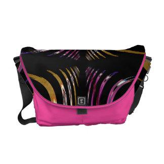 Bold Spiral Messenger Bags