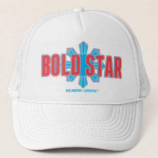 Bold Star Full Logo Trucker Hat